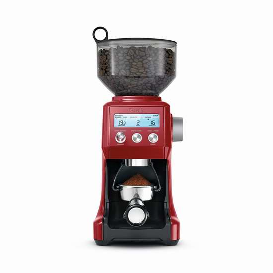 金盒头条:历史新低!Breville 铂富 BCG820 智能专业意式咖啡磨豆机6折 180加元包邮!3色可选!