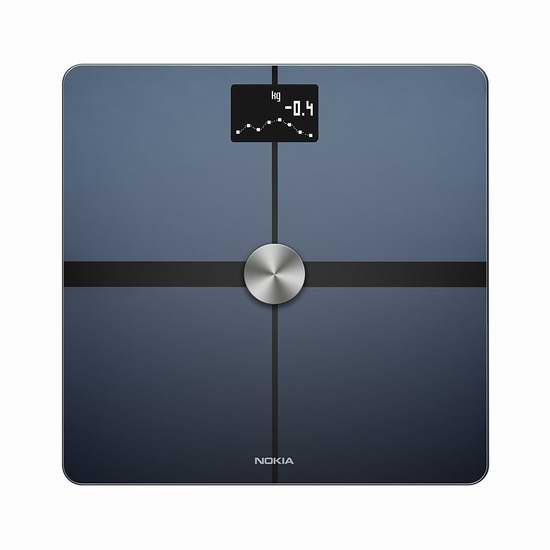 近史低价!Nokia 诺基亚 Body+ – 无线智能体重秤6.2折 79.99加元包邮!