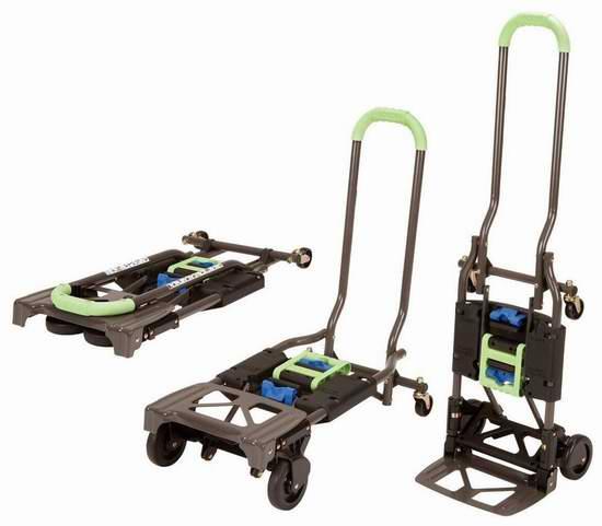 历史新低!Cosco Shifter 可折叠多功能两用推车/拖车 59.99加元包邮!2色可选!