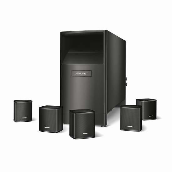历史新低!Bose Acoustimass 6 系列 V家庭影院扬声器系统6.5折 499加元包邮!