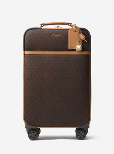 Michael Kors Jet Set Logo印花 18寸行李箱/登机箱6折 388.8加元包邮!两色可选!