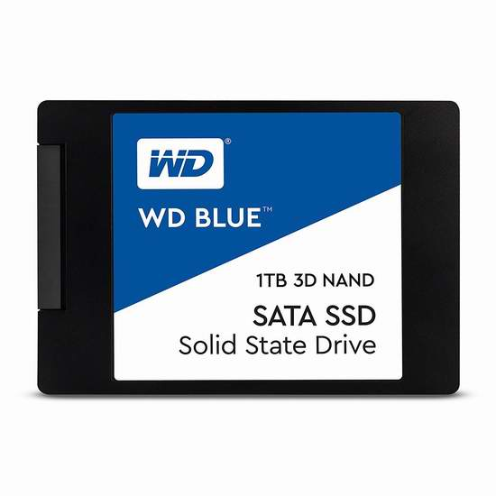 历史新低!WD 西数 Blue 3D NAND PC SSD 1TB固态硬盘 339.99加元包邮!