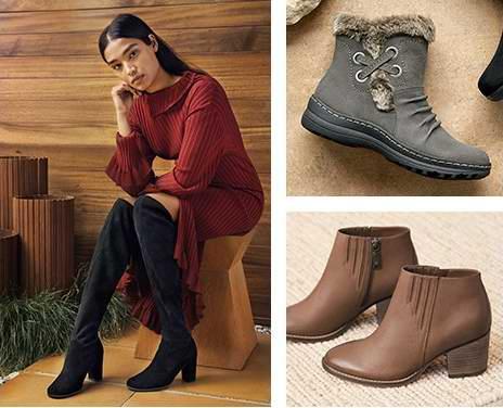 Naturalizer 娜然黑五专享!精选女式鞋靴、手袋等3.6折起,全场额外6折+包邮!