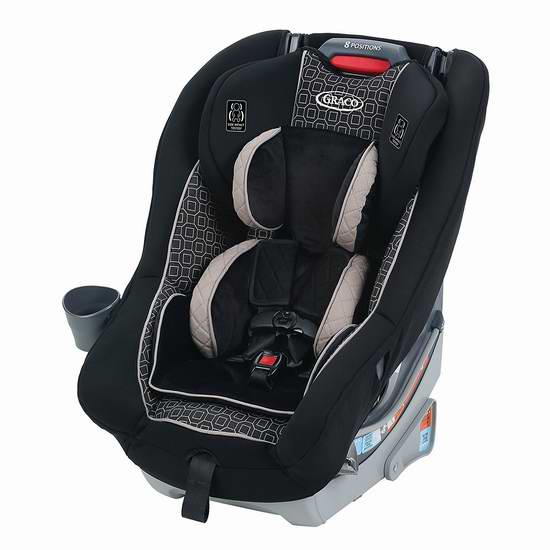 历史新低!Graco 葛莱 Dimensions 65 成长型儿童汽车安全座椅5.8折 179.99元包邮!