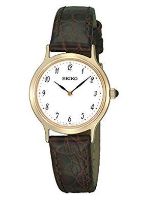 历史新低!Seiko 精工 SFQ828 女士石英腕表/手表3.6折 78.8加元包邮!