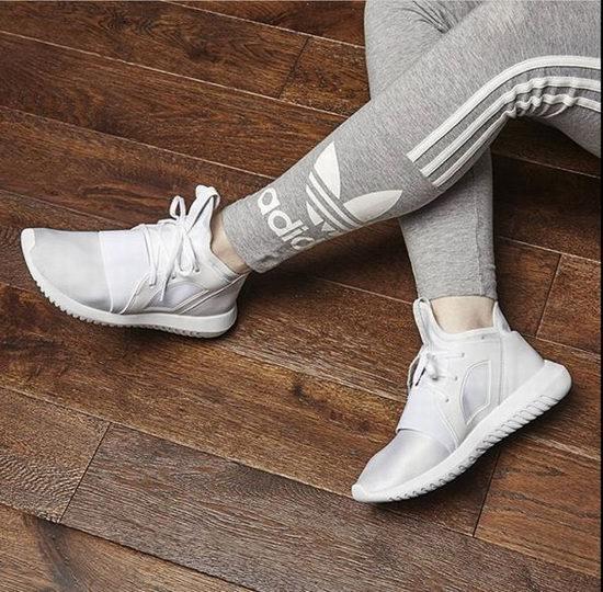 Angelababy同款!ADIDAS Tubular 女士纯色运动鞋 52加元+包邮!