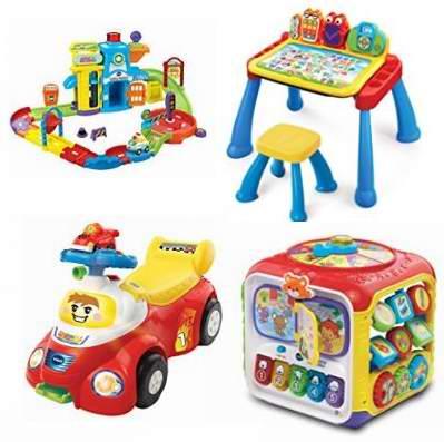 黑五专享!精选48款 VTech 益智类儿童玩具4.5折起!售价低至6.1元!