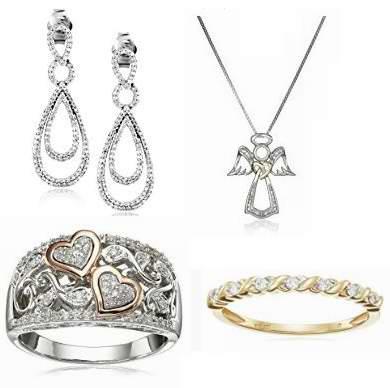 黑五专享!精选57款钻石耳环、项链、戒指、手镯等精美首饰1.7折起特卖!售价低至44.74加元!