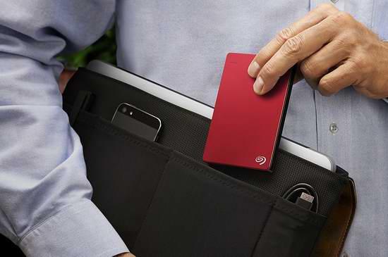 Seagate 希捷 Backup Plus 2TB 超便携移动硬盘4.4折 79.99加元包邮!