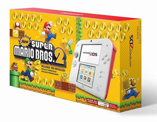历史新低!Nintendo 任天堂 2DS 游戏机 79.97加元包邮!