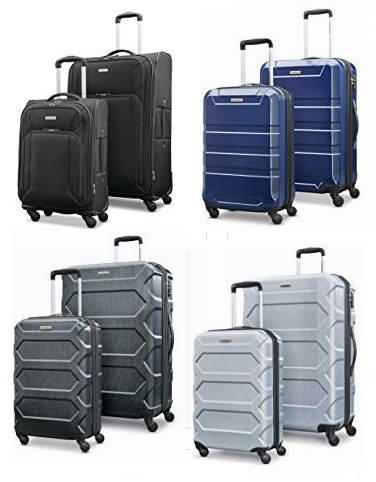 黑五专享!历史新低!精选9款 Samsonite 新秀丽 硬壳/软壳 轻质拉杆行李箱2件套3折 165-180加元包邮!