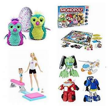 黑五专享!精选98款 Hatchimals、Disney 等品牌儿童玩具、玩偶2.8折起!