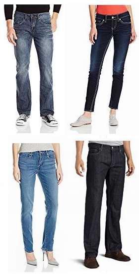 黑五专享!精选165款 Levi's、Lee、Calvin Klein 等品牌成人儿童牛仔裤4折起!售价低至12加元!