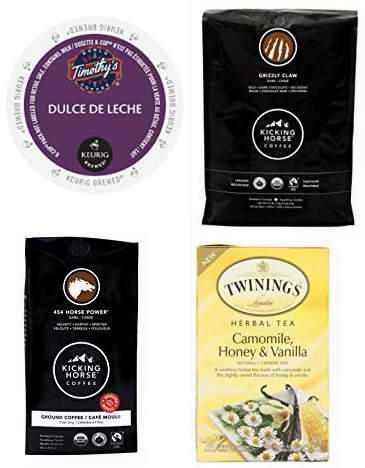 黑五专享!精选多款 Starbucks、Kicking Horse 等品牌咖啡、咖啡胶囊及茶饮料6折起特卖!售价低至4.19加元!