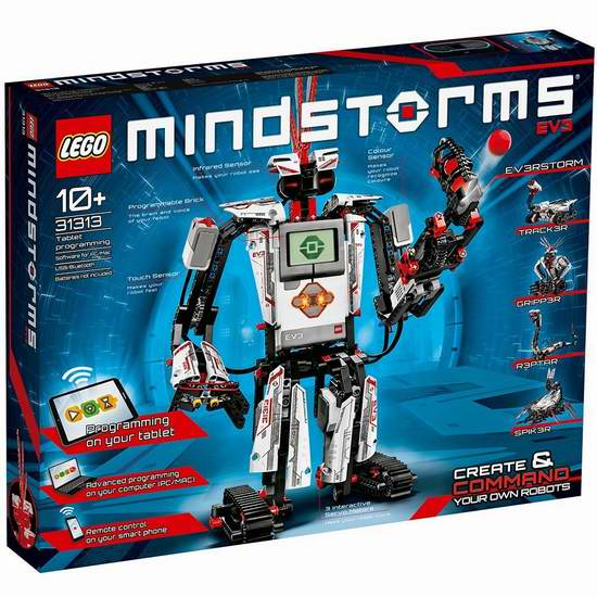 LEGO 乐高 31313 17合一 头脑风暴 EV3 机器人 319.89加元包邮!