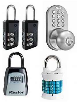 网购周专享!精选67款密码锁、密码门锁、密码钥匙盒等4.8折起!