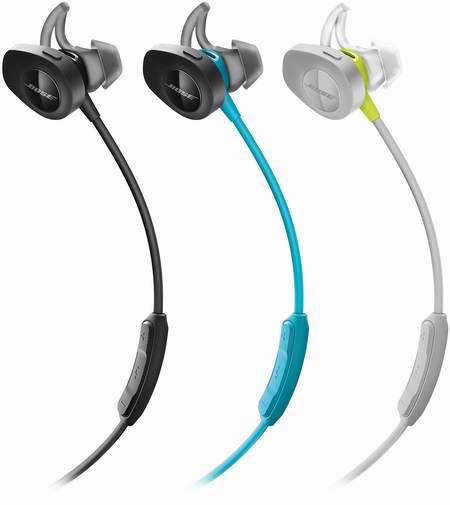 Bose SoundSport 无线蓝牙耳机 179.99加元包邮!2色可选!
