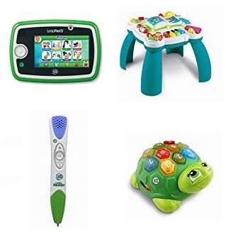 网购周专享!精选39款 Leapfrog 跳蛙 儿童早教平板电脑、点读笔、配套软件书籍及益智玩具等4.6折起!