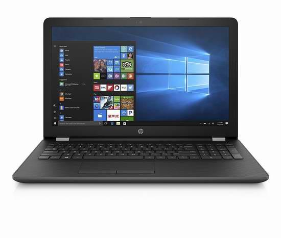网购周专享!历史新低!Hewlett Packard 惠普 15.6英寸笔记本电脑(4GB/500GB) 399加元包邮!