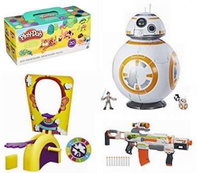 网购周专享!精选61款 Play-Doh、NERF、Hasbro 等品牌儿童玩具2.4折起!