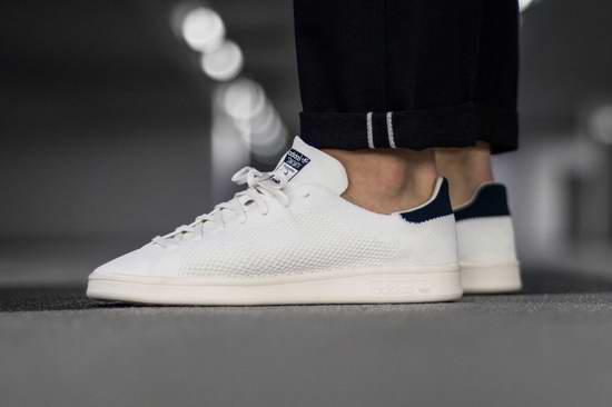 Adidas Stan Smith Primeknit 男士黑尾小白鞋/运动鞋3.4折 47.47加元包邮!