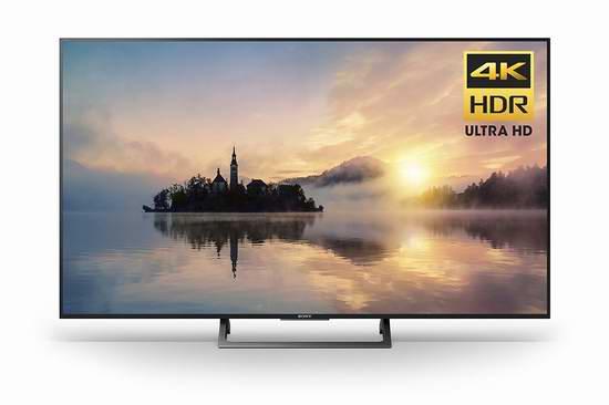 历史新低!Sony 索尼 KD49X720E 49寸4K超高清智能电视6.5折 612.47加元包邮!