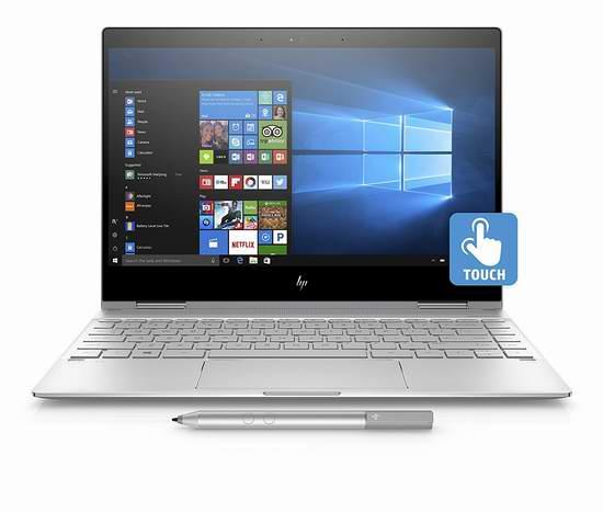 网购周专享!历史新低!HP 惠普 Spectre x360 13.3英寸 超轻薄 可翻转 触摸屏笔记本电脑 1349加元包邮!