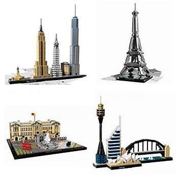 精选10款 LEGO 乐高 Architecture 建筑系列积木玩具全部7.5折!