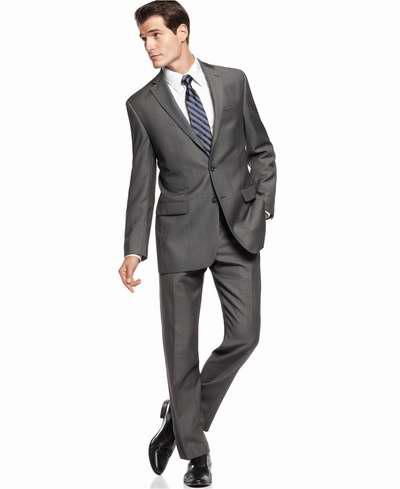 精选12款 Calvin Klein 男士精品纯羊毛西服套装全部3.4折 179.99加元包邮!