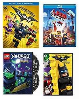 精选69款 Lego 乐高系列电影碟片4.6折起!