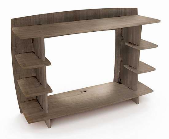 历史新低!Legare Furniture 灰色拼接式办公桌/书桌2.7折 75.54加元包邮!