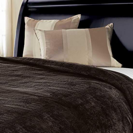 网购周专享!历史新低!Sunbeam Fleece 保暖电热毯4.2折 47.66加元包邮!