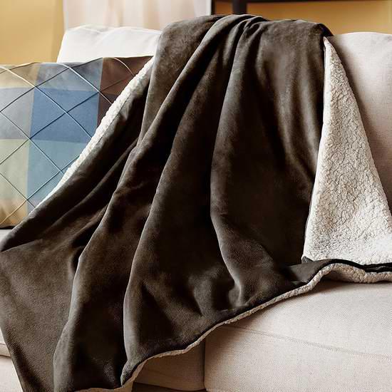 网购周专享!历史新低!Sunbeam 双面电热毯4.5折 62.39加元包邮!