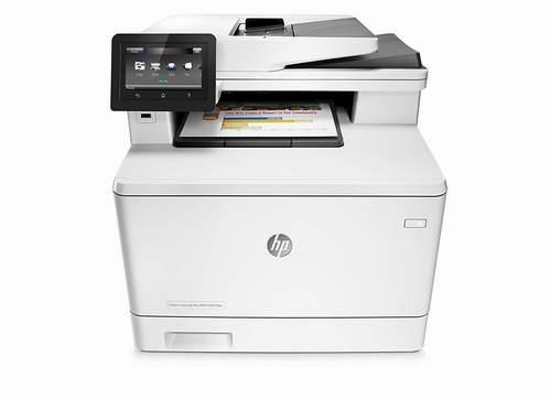 HP Laserjet Pro M477fdn一体式激光彩色打印机 499.99加元,原价 699.99加元,包邮