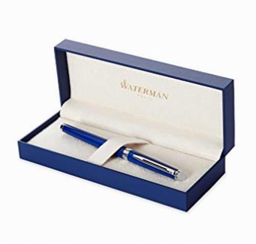 历史最低价!Waterman 1904599 中号蓝色钢笔 61.88加元,原价 122.04加元,包邮