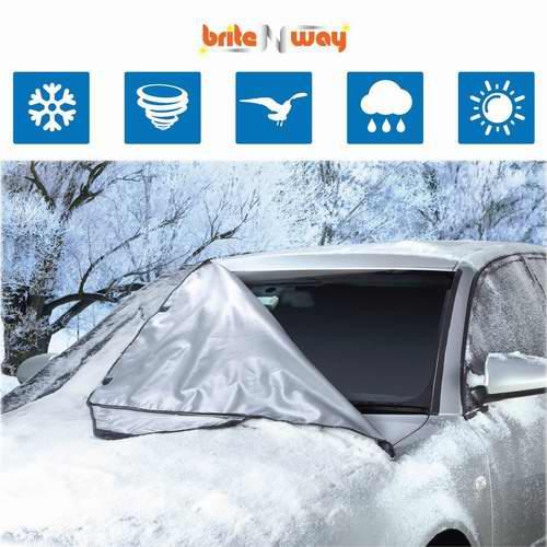 BriteNway 擋風玻璃防雪防冰罩 19.79加元,原價 41.99加元
