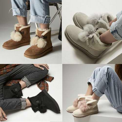 美炸了!颜值爆表!Baby代言 UGG Gita雪地靴 144.99加元(3色),原价 210加元