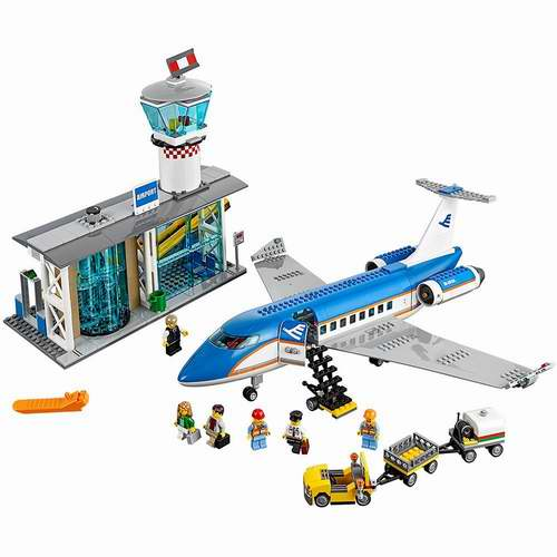 LEGO 60104机场航站楼积木套装 7折 90加元(694pcs),原价 129.99加元,包邮