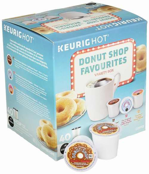 Donut Shop K-Cups 咖啡胶囊 15.88加元(30件套 ),原价 23.99加元