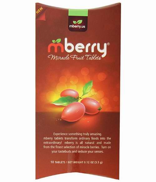 天下第一奇果!Mberry Miracle 神秘果片 令酸变甜 19.95加元!
