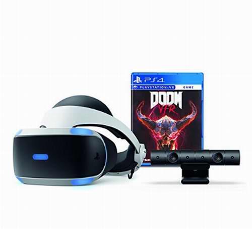 历史新低!PlayStation VR 头盔 + PS4 摄像头+《毁灭战士》套装 379.96加元,原价 499.99加元