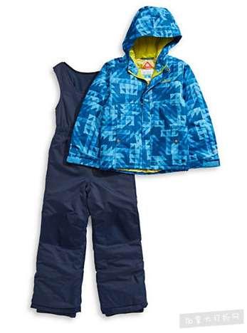 精选 Columbia 儿童抓絨、雪衣雪裤、冲锋衣 5折 17.49加元起特卖!