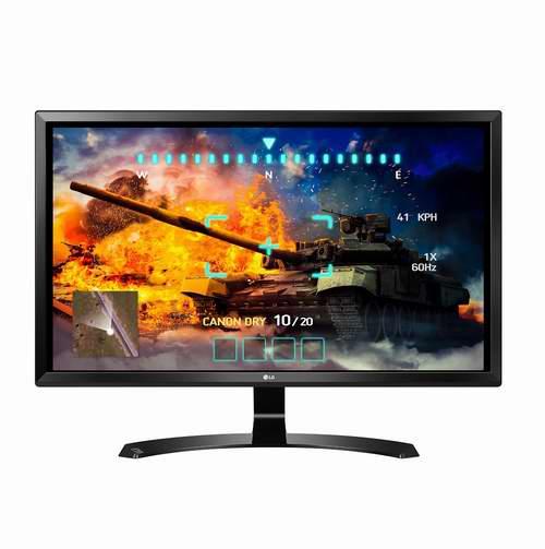 历史最低价!LG 27UD58-B 27英寸 4K UHD IPS FreeSync 显示器 399.99加元,原价 549.99加元,包邮
