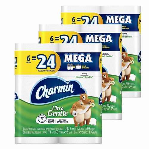 Charmin Ultra卫生纸 18卷装 10.99加元特卖!