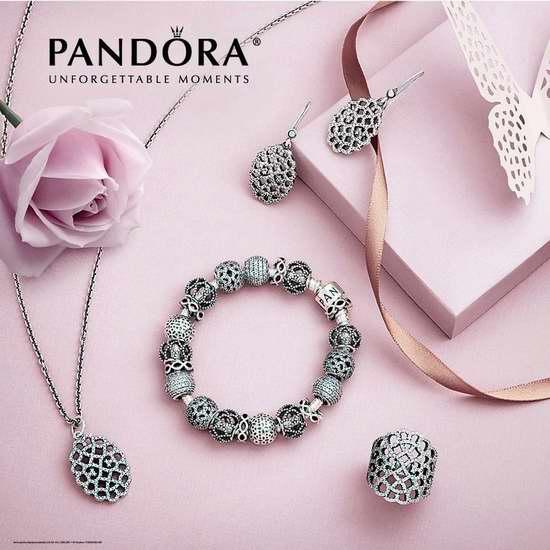 Pandora 潘多拉 女神节,指定款精美首饰全部7.5折!