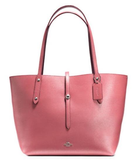 COACH Market 手提包 粉色款161.7加元,原价 385加元,包邮