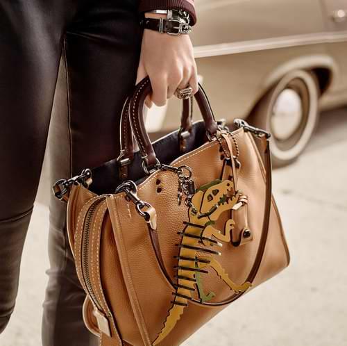 时尚圈宠儿!精选多款Coach Rogue 系列手袋 212.5加元起特卖!