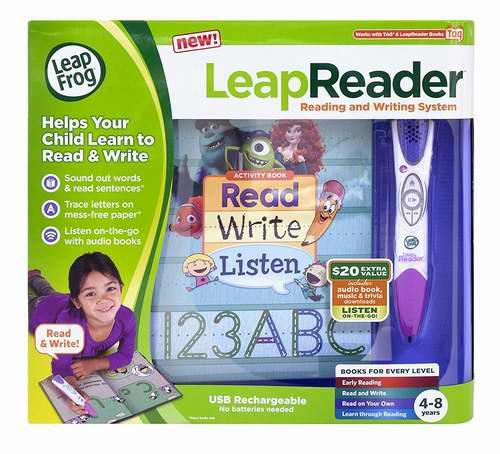 历史新低!LeapFrog LeapReader 跳蛙点读笔4.3折 25.74加元!