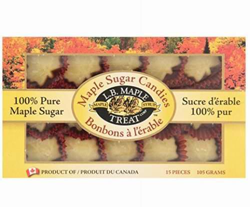 回国送礼首选!精选多款 L B Maple Treat 纯天然枫叶行枫糖浆糖果 3.99加元起特卖!