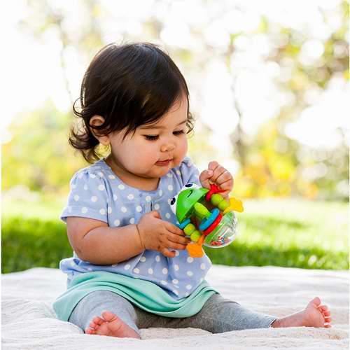 Infantino 婴儿青蛙牙胶摇铃 4.99加元